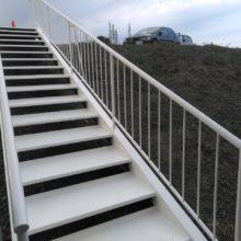 さいたま市西区 金属塗装 階段塗装