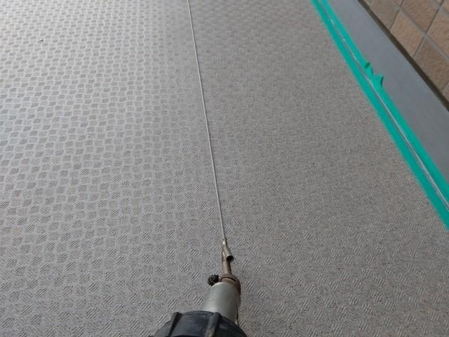 マンション廊下 長尺シート サイワ塗装