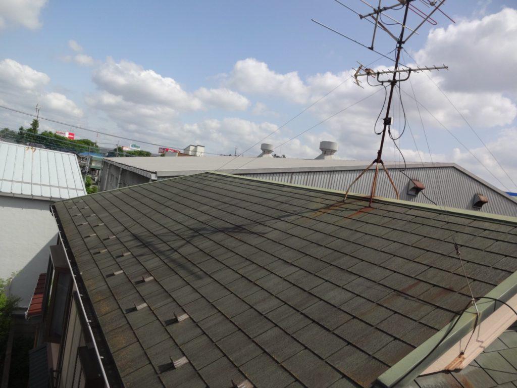戸田市 屋根塗装 サイワ塗装工業 GAINA