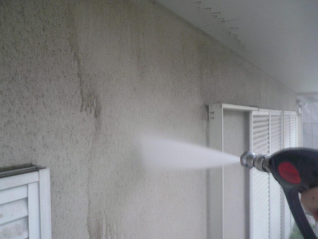 サイワ塗装工業 外壁塗装 高圧洗浄