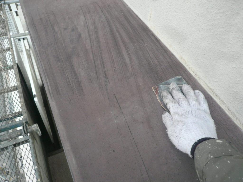 サイワ塗装工業 付帯部塗装 ケレン