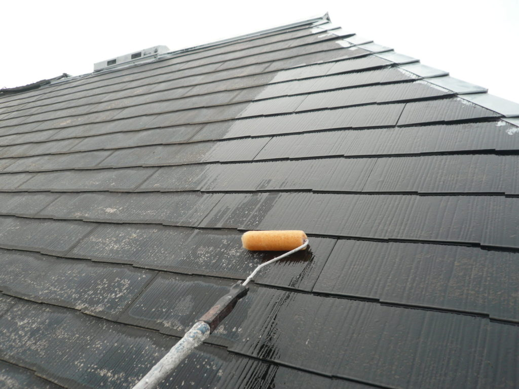 サイワ塗装工業 屋根塗装 サーモアイシーラー 日本ペイント