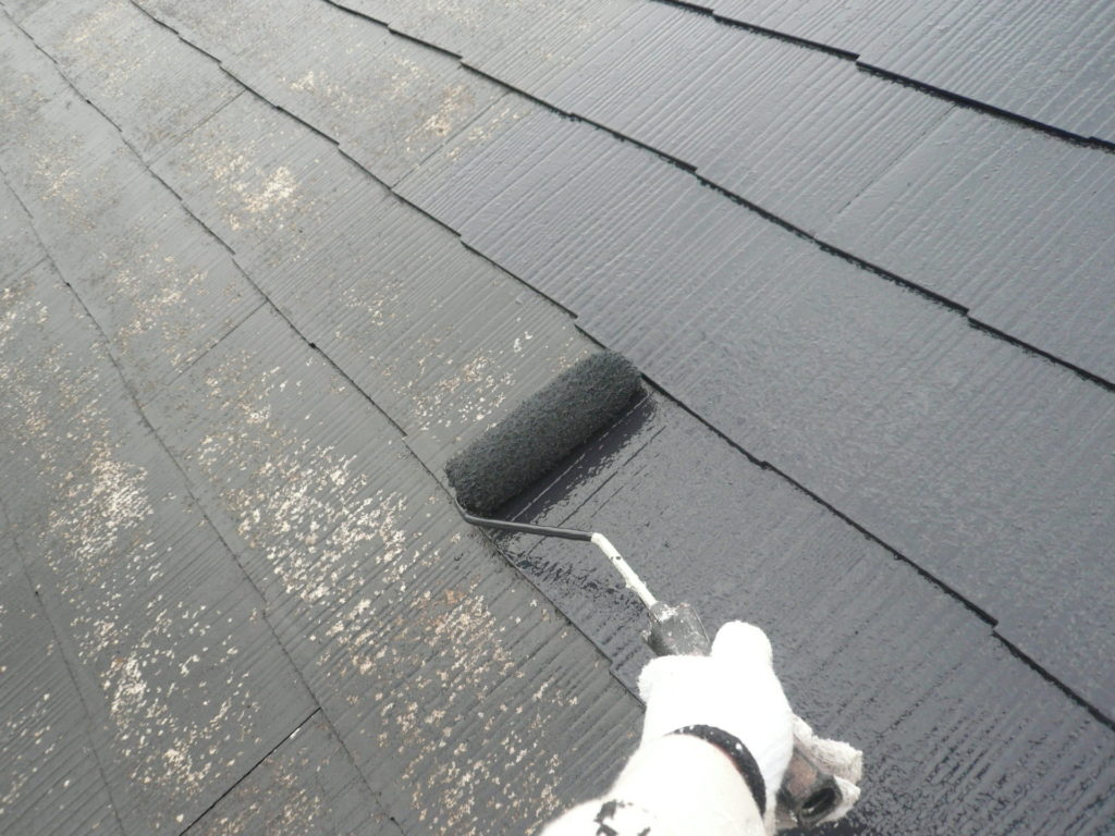屋根塗装 パーフェクトフィラー 日本ペイント