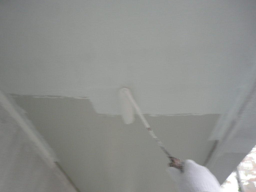 軒天塗装 ケンエースⅡ サイワ塗装工業