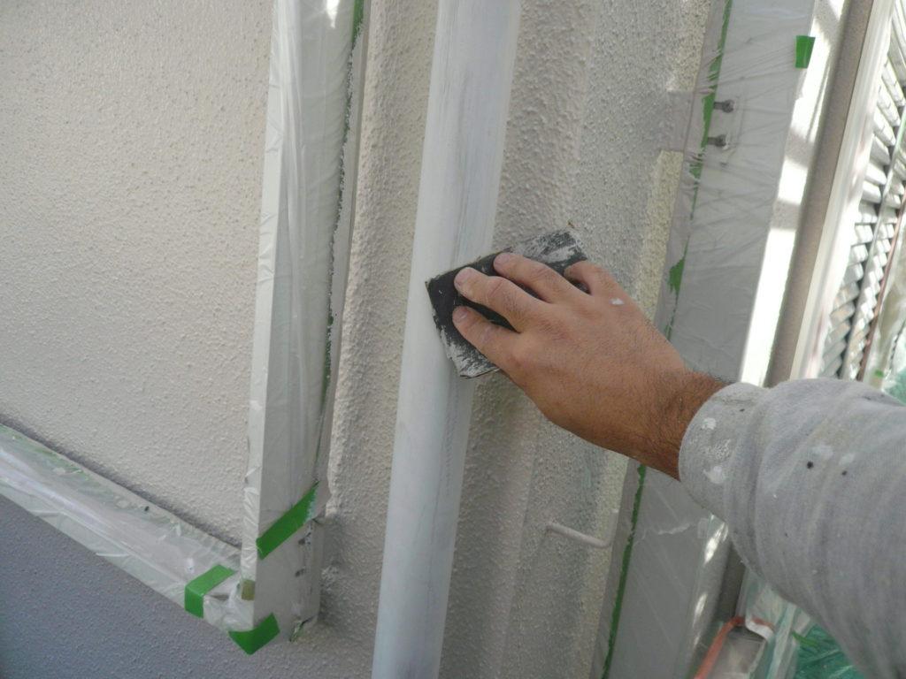 さいたま市 サイワ塗装 雨樋塗装