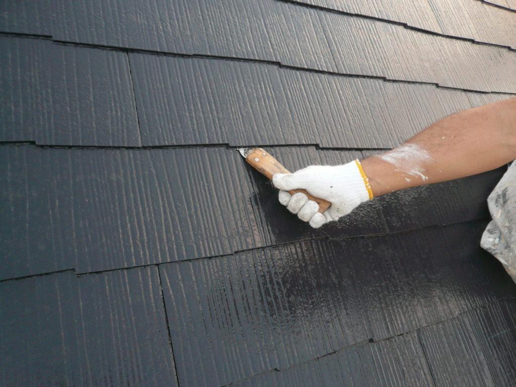 サイワ塗装工業 屋根塗装 縁切り