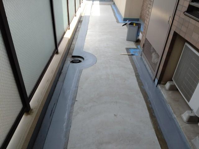 川越市 長尺シート ウレタン防水