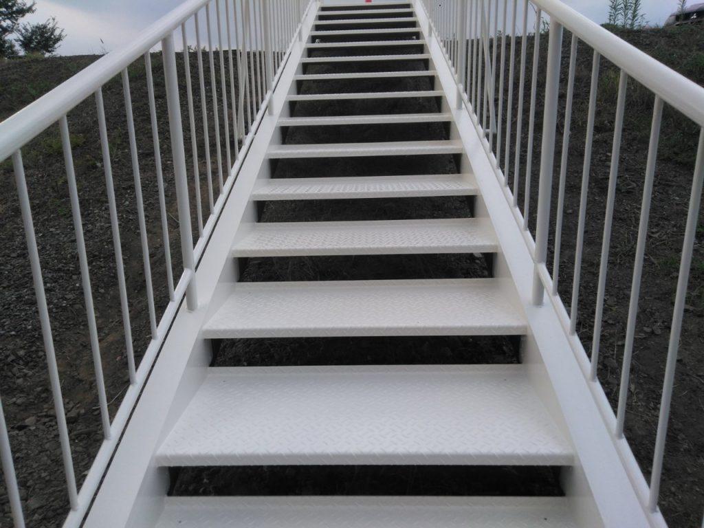 さいたま市西区 指扇 階段塗装