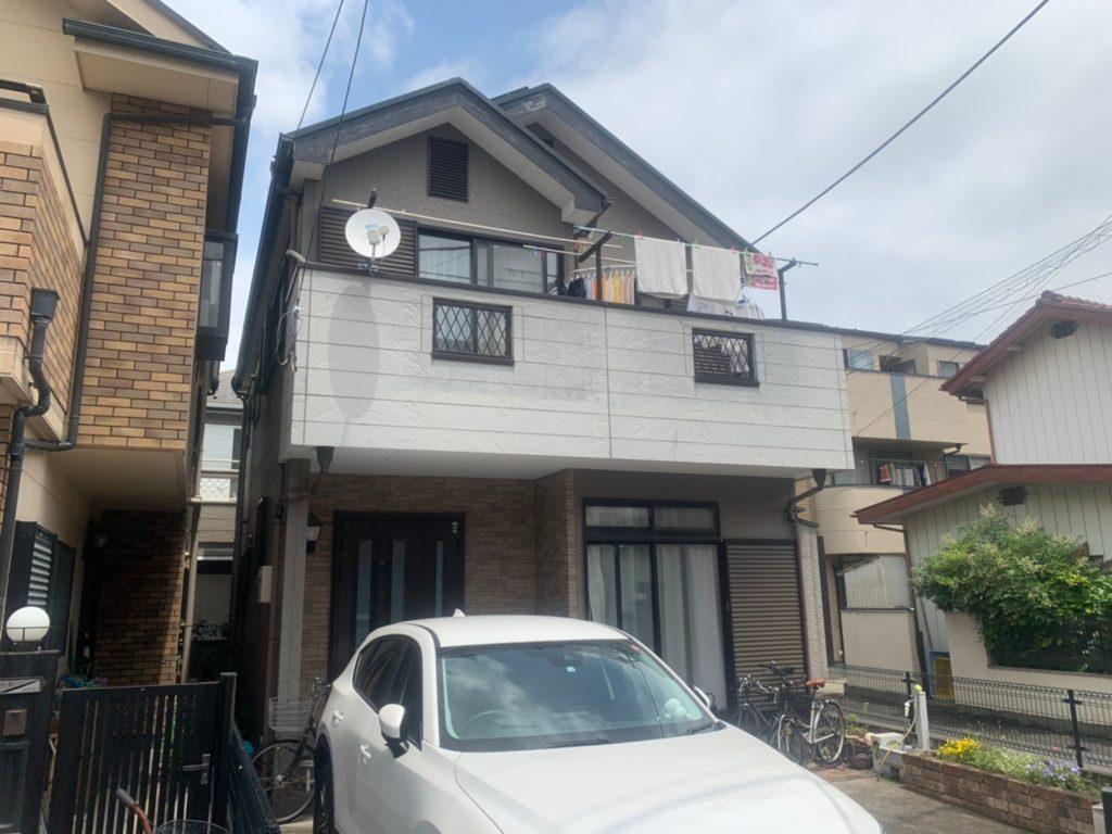 さいたま市 外壁塗装 外装リフォーム 戸田