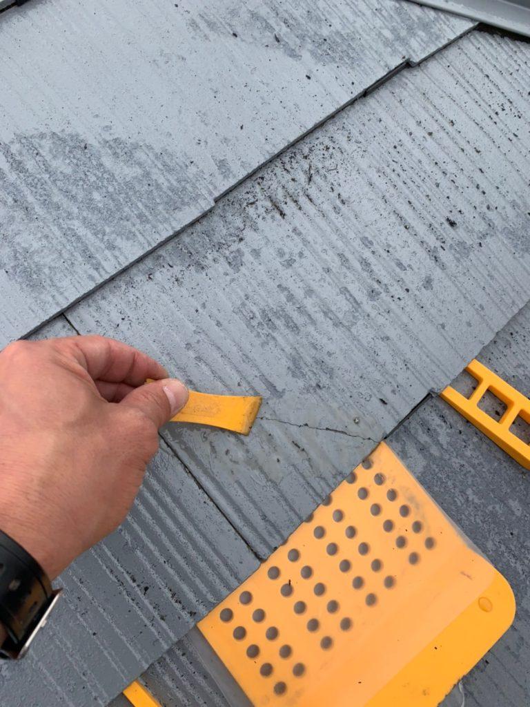 ひび割れ直す 屋根 外壁 タスマジック補修