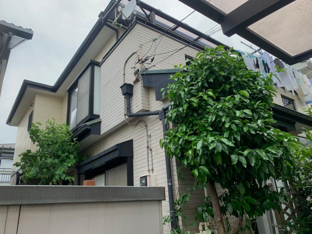 さいたま市北区 宮原町 サイワ塗装工業 屋根外壁塗装