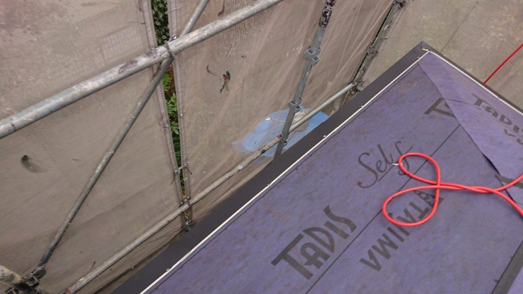 カバー工法 防水紙 防水シート