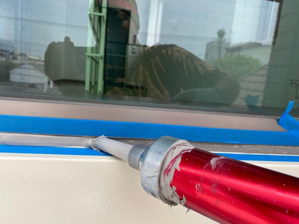 サイワ塗装工業 シーリング充填 さいたま市西区