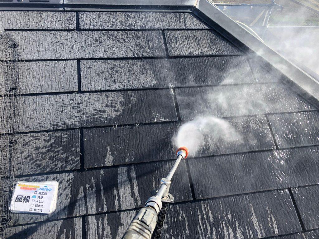 さいたま市西区 屋根洗浄 外壁塗装 洗浄