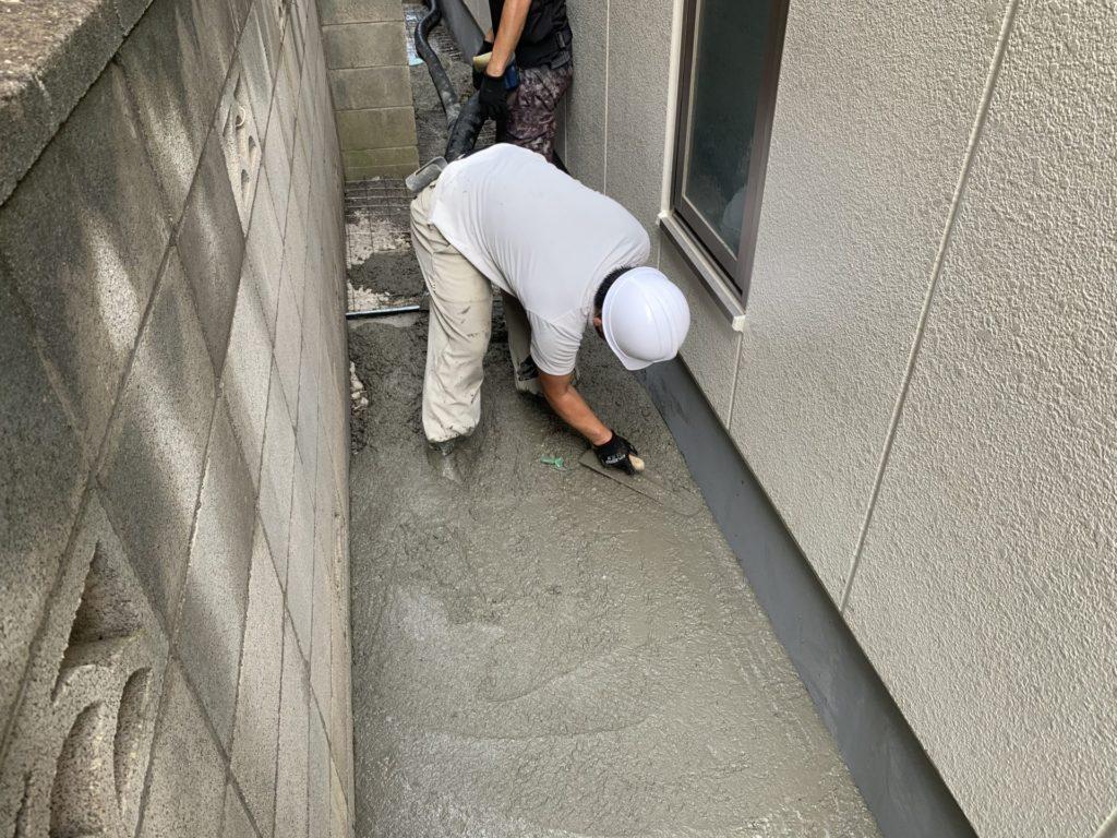 土間工事 生コン さいたま市 コンクリート工事