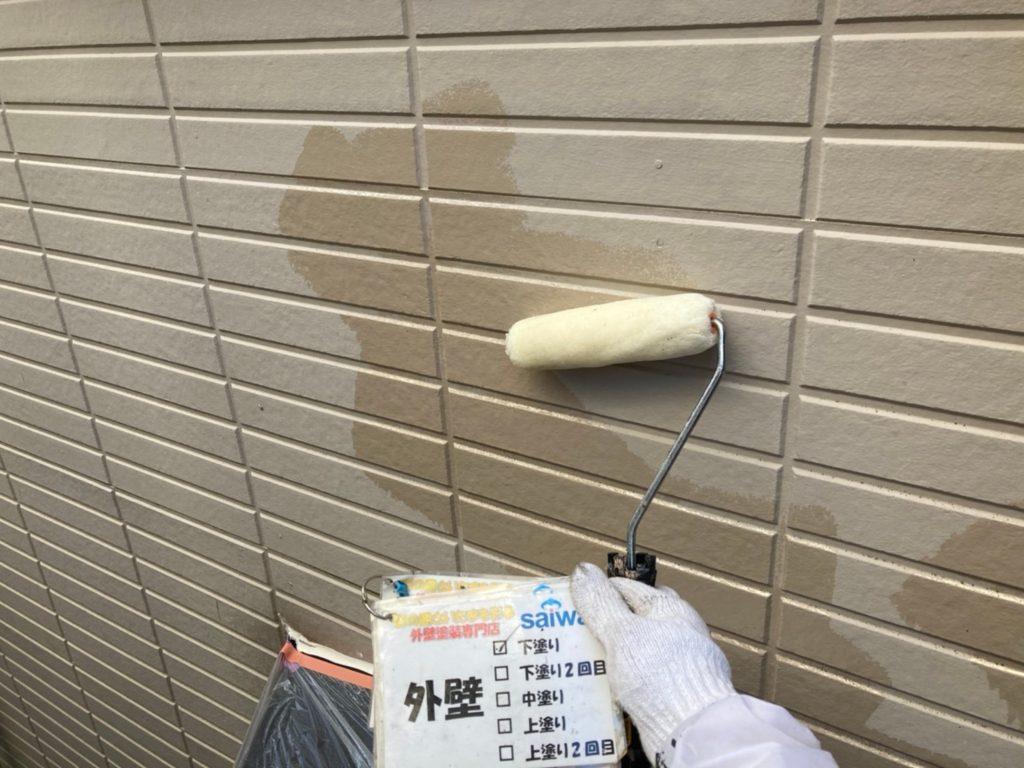 さいたま市北区 外壁塗装 パーフェクトフィラー 日本ペイント サイワ塗装工業