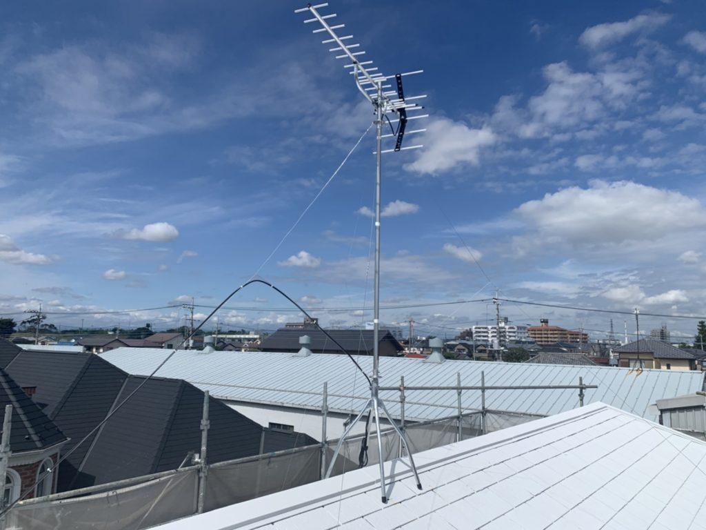 アンテナ交換工事 戸田市 屋根塗装
