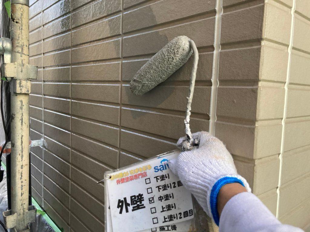 サイワ塗装工業 さいたま市 パーフェクトトップ 外壁塗装