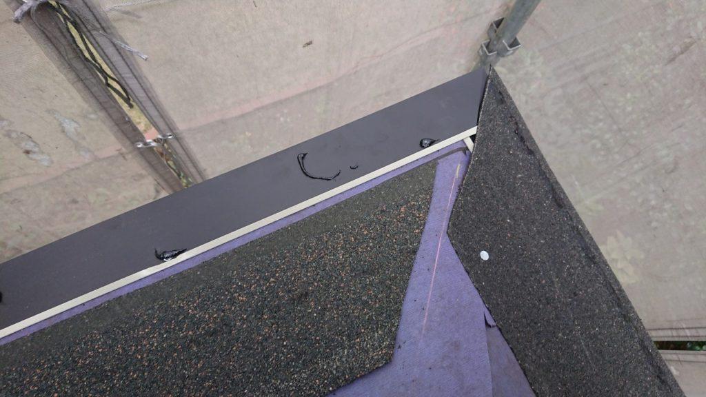カバー工法 新規屋根材