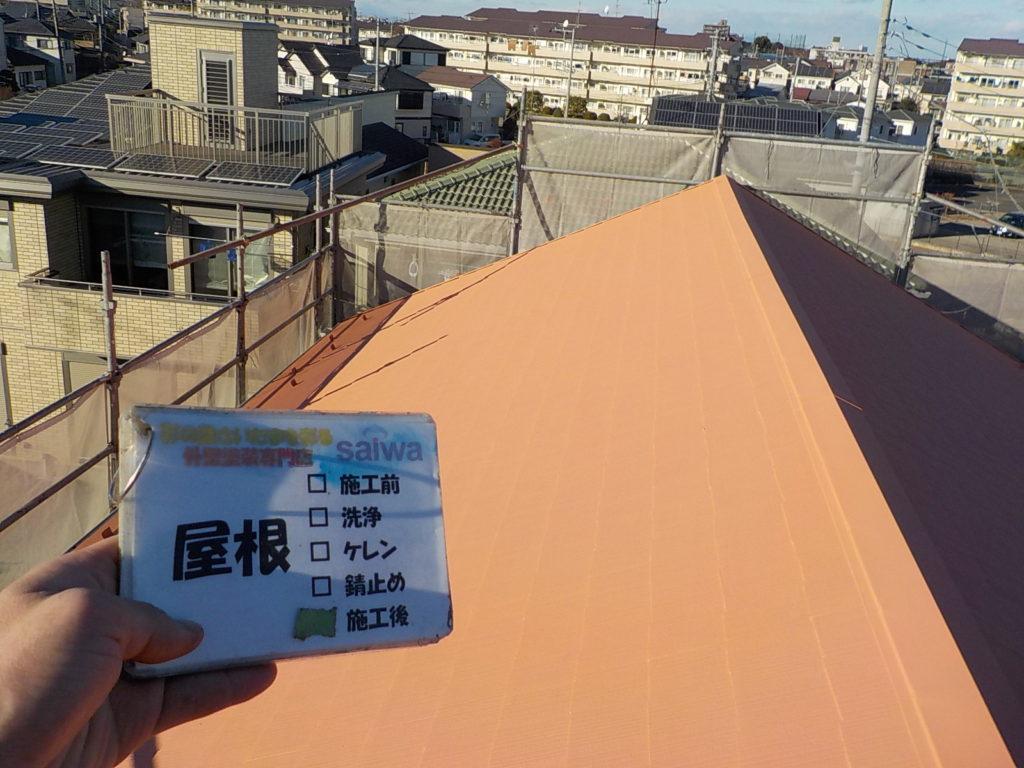 屋根の塗装 ガイナ塗装
