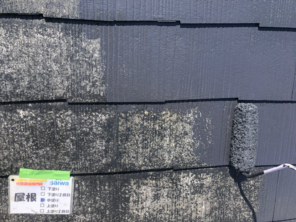 屋根 遮熱 サーモアイ クールブラック 塗装