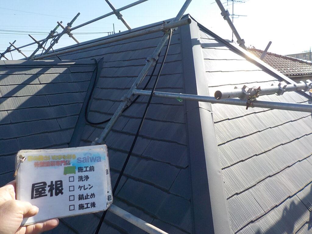 屋根の塗装 遮熱塗装 日本ペイント サーモアイ