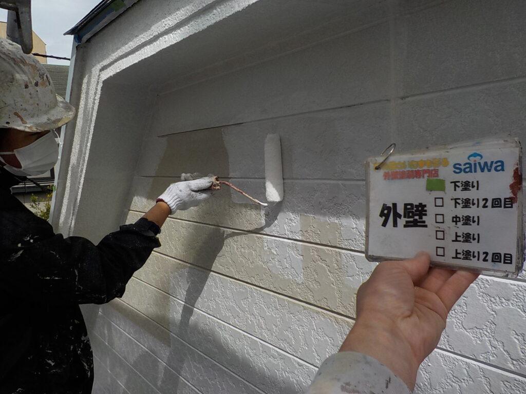 軒天 天井塗装 付帯部 外装リフォーム