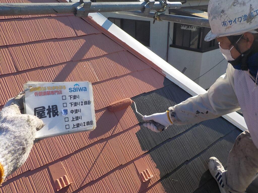 屋根塗装 サーモアイ 外装リフォーム
