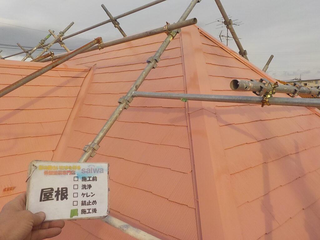 屋根の塗装 日本ペイント サーモアイ
