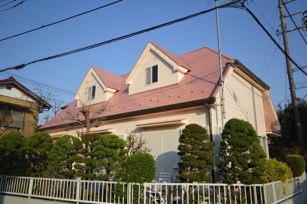 さいたま市西区 外壁塗装 遮熱 日本ペイント