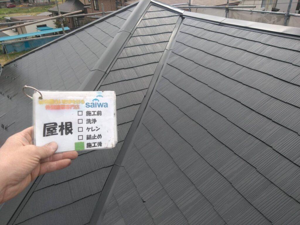 屋根塗装 クールブラック サーモSI