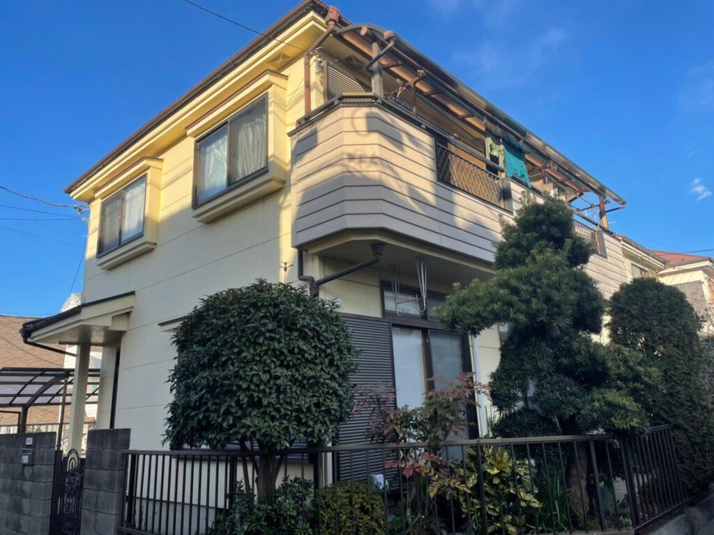 施工前状況 住宅塗装 さいたま市