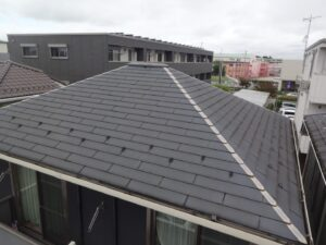 屋根 塗装 日本ペイント サーモアイ 遮熱 ブラック