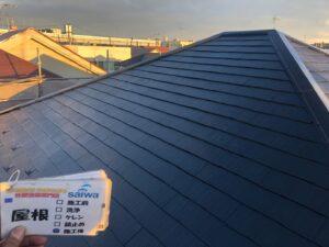 屋根の塗装工事 さいたま市西区 塗装
