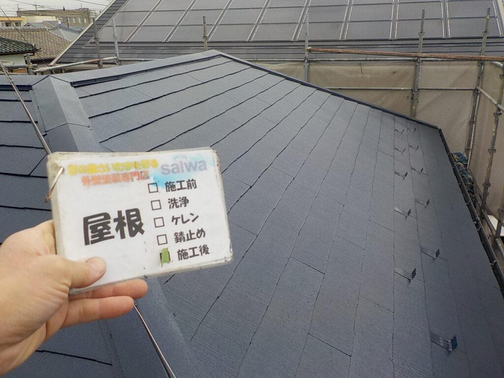 屋根塗装 フッ素塗装 UVコートルーフ仕様