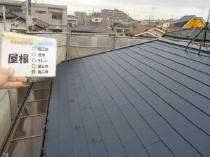 さいたま市の屋根塗装 フッ素 JPM