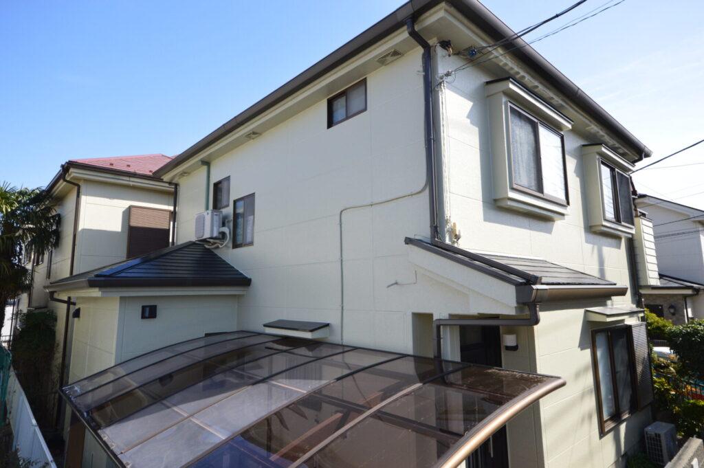 さいたま市西区 外装リフォーム 屋根の塗装