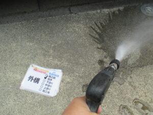 高圧洗浄 綺麗 汚れ 外壁塗装
