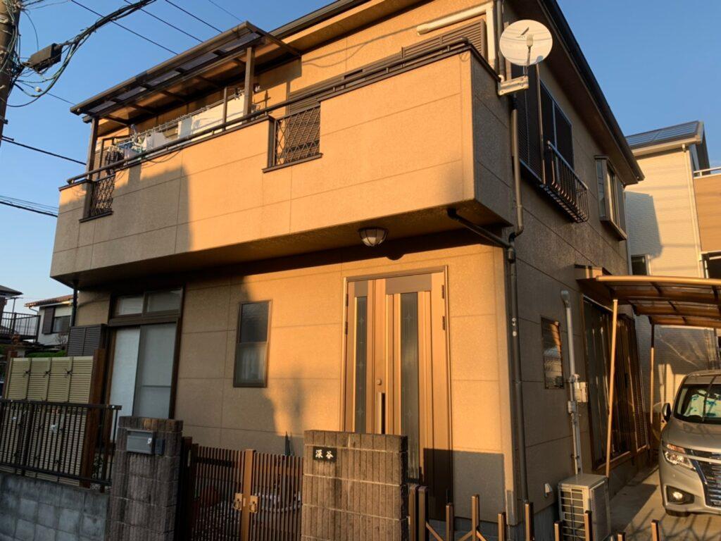 住宅塗装 外装リフォーム 屋根塗装 フッ素
