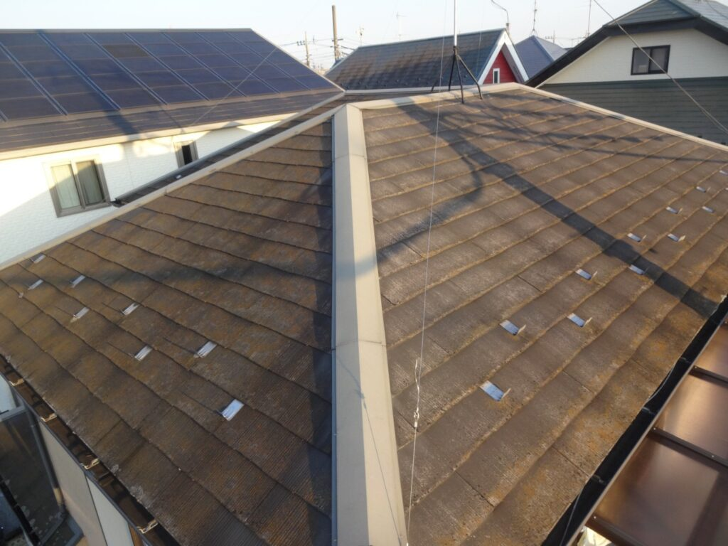 屋根の塗装 劣化状況