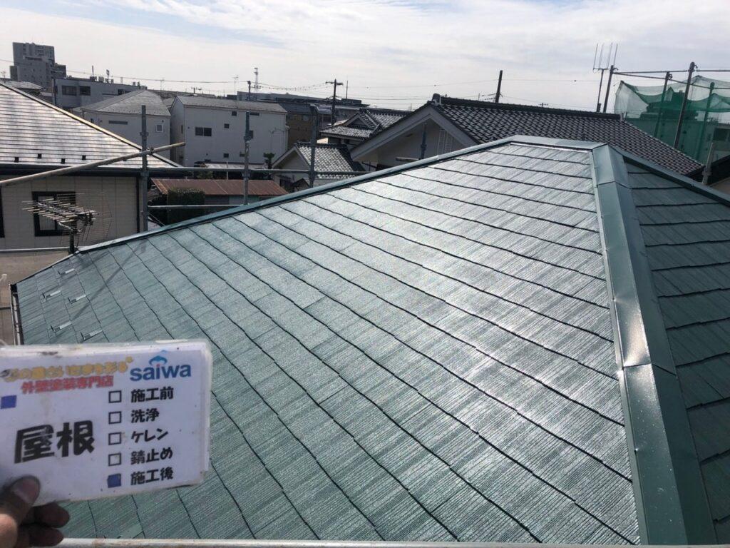 日本ペイントサーモアイ 遮熱塗装 屋根の塗装