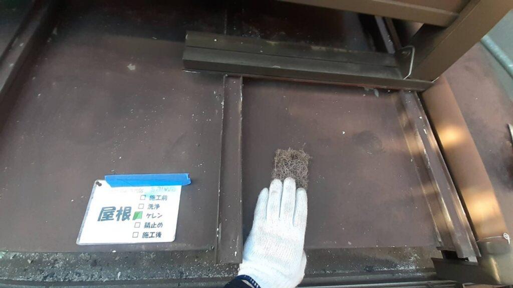 屋根塗装 ケレン 下地処理
