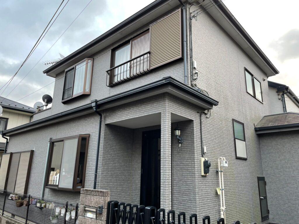 住宅塗装 施行前 さいたま市 外壁塗装