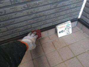 水切り塗装 ケレン作業 下地処理 さいたま市 西区 塗装