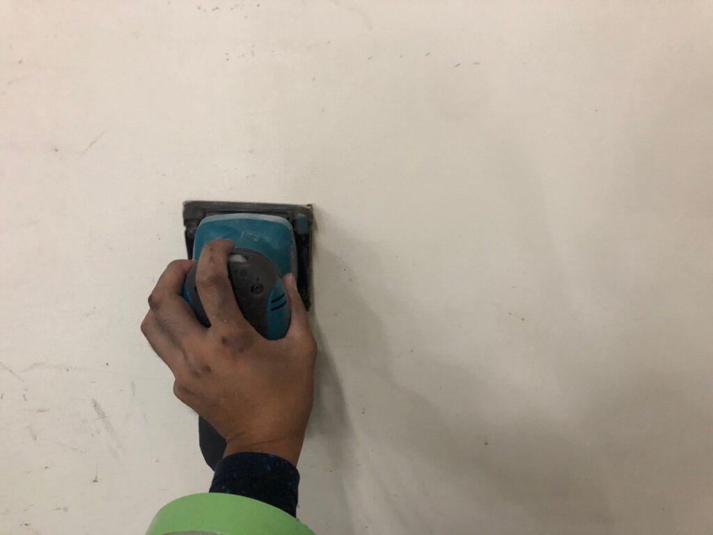 ケレン作業 段差調整 下地処理 塗装面滑らかに