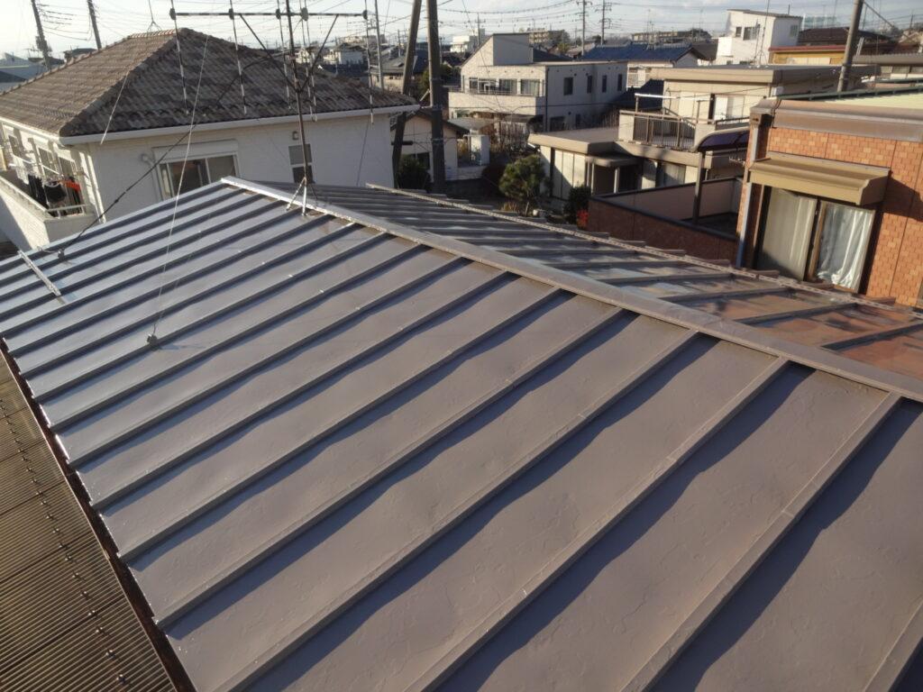屋根の塗装 トタン屋根 さいたま塗装