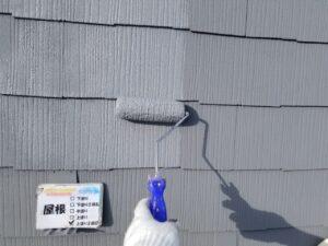 屋根の塗装工事 日進産業 ガイナ N-50