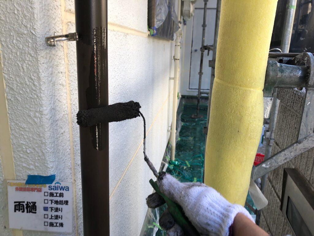 雨樋塗装 さいたま市外壁塗装 高品質 評判