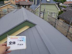 屋根の塗装 遮熱塗装 日進産業GAINA N-50