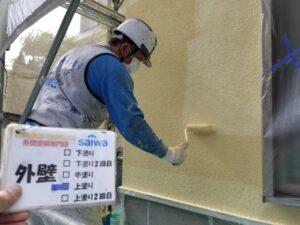 外壁 上塗り 塗装 外壁 大同塗料 スムースプラスター